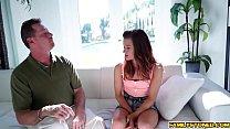 Step dad fucks Alaina Dawson from behind doggystyle porn videos
