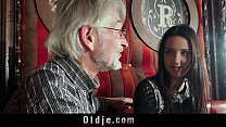 cums... for grandpa naive seduces girl young Sweet