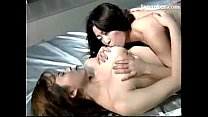 2 Busty Girls Kissing Passionately Rubbing Lick...