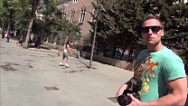MAGMA FILM Picking up a rollergirl in Barcelona porn videos
