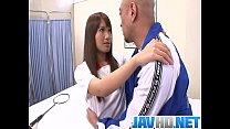 Sexy Suzu Minamoto Gets Creampied By Her Coach porn videos