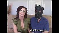 MILF Embarrasses Sissy Hubby thumbnail