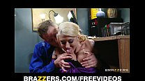 Submissive blonde secretary is dominated by her...