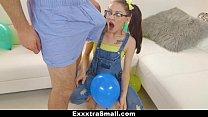 ExxxtraSmall - Playful Teen Gets Tight Pussy Fu... thumb