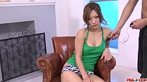 Aika gets creamed on face after real Japan toy ...