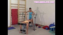 Blonde Teens Working Out thumbnail