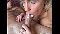 Beautiful beefy old spunker gives an amazing sl...