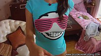 DOUBLEVIEWCASTING.COM - AMBER IS THIRSTY FOR TA...