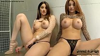 Indian Twin Sisters Dominate You and Strip Mast...