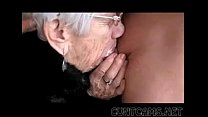 granny sucks boys cock for her birthday   more at cuntcams.net