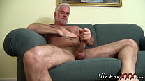 Hairy Jake Marshall Daddy in solo masturbation ...