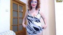 Olga Rose toples show 1
