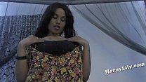 South Indian girl giving blowjob JOI in Hindi thumbnail