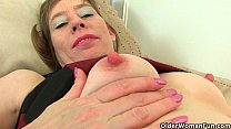 tights her off peels p sexy milf British