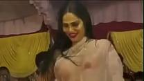 Hot wet topless dancer in bhojpuri arkestra sta...