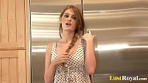 Gorgeous brunette girl Faye Reagan is quite dirty