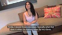 FakeAgentUK Pretty girl takes a massive facial on casting couch porn videos