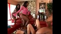 when the dicks are away three black girls play