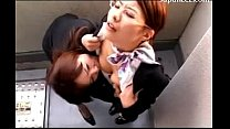 office lady with glasses kissing passionately getting her tongue sucked tits rubbed by her colleauge