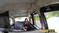 Fake Taxi hot busty babe gets massive cum shot over her tits thumbnail