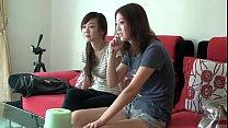 Японцы засунули азиатке голову во влагалище