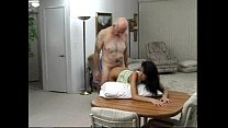 man old an by fucked teen latina Sexy