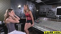 Tali Dova toying the sweet pussy of Aurora Bell...