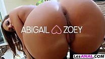 Spectacular babes Abigail Mac And Zoey Monroe D...