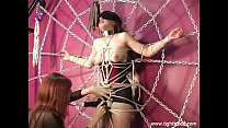 Slave Girl Tied and Teased