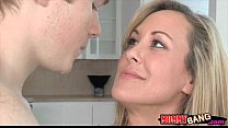 Teen Madison Chandler and busty MILF Brandi Lov...