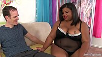cocked white gets girl black young chubby black