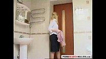 tight teen bathroom surprise