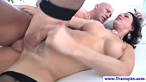 pounded ass her has tranny Shemale