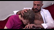 Extremely Hot Hairy Bear Fucks Cute Twink Extre...