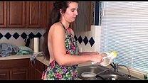 peluda hermosa cocina