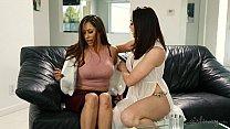 bbc over wet gets sky reena brunette Teen