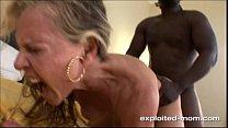 cock black big fucking milf blonde Cute