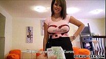 money for banged doll chintia waitress european Gorgeous