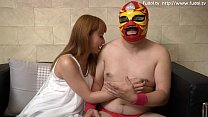 Japanese beautiful girl gives special blow job to an Asian guy porn videos