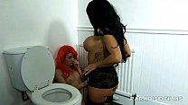 paradise films hot lesbians in the toilet