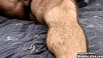 Latino Ex Marine Jacks Penis in Hotel