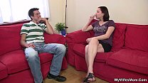Girlfriends mom rides his cock secretly porn videos