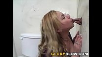 Busty blonde Juliana Gives Blowjob to A BBC porn videos