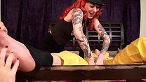 April O'Neil's Brutal Gang Tickling