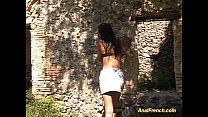 babe fucked hard french Anal
