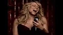 Short Video Clip of Mariah Carey young Wearing bra & white panties porn videos