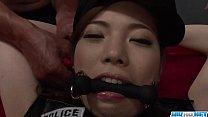 Serious pussy stimulation for obedient Emi Sasaki porn videos