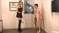 Ballbusting: Mistress Kristyna Dark destroys th...