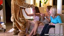 Jordan's Divorcerette CFNM Dancing Bear Party with Male Strippers (db9527) porn videos