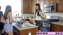 MomsTeachSex - Hot Step-Mom And Teen Get Messy Facial thumbnail